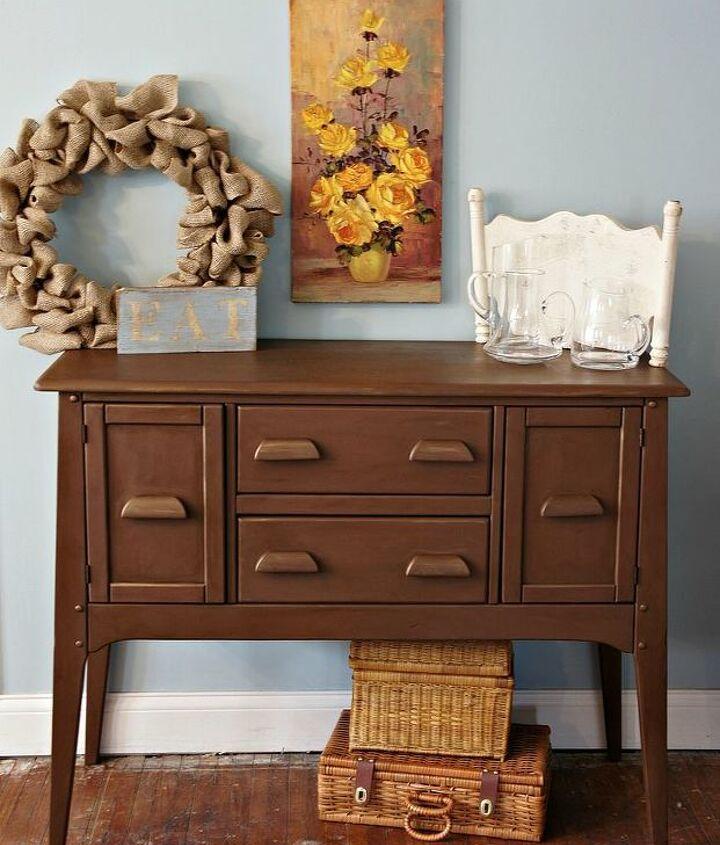 annie sloan chalk paint custom color brown bronze, chalk paint, painted furniture