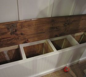 Adding A Mudroom To Our Garage, Garages, Home Improvement, Laundry Rooms,  This