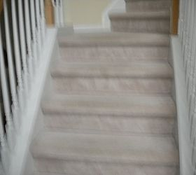 Change Carpet To Wood On Staircase, Flooring, Hardwood Floors, Stairs,  Before The