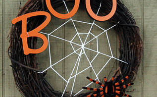 halloween spider web wreath, crafts, halloween decorations, seasonal holiday decor, wreaths