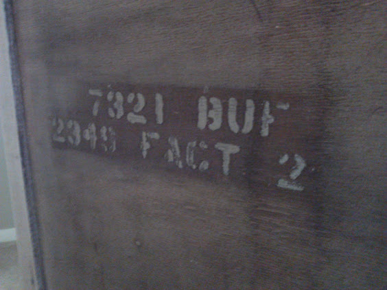 Here's the factory markings