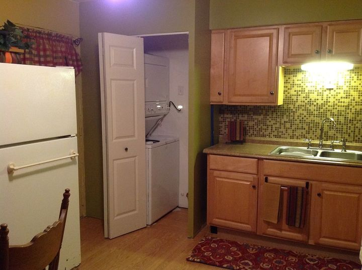 this would be about a remodeled kitchen before and after shots, home improvement, kitchen design