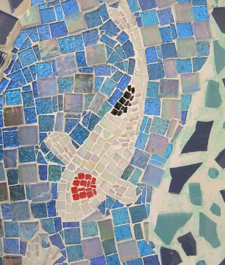 grouted detail