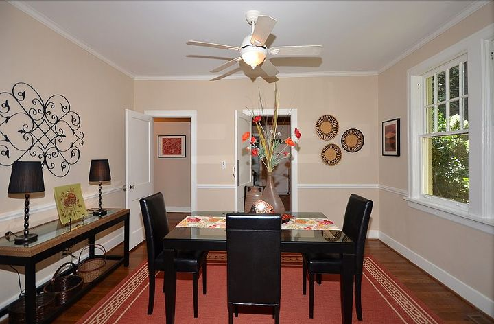 AFTER - Neutralized & Beautifully Staged Dining Room