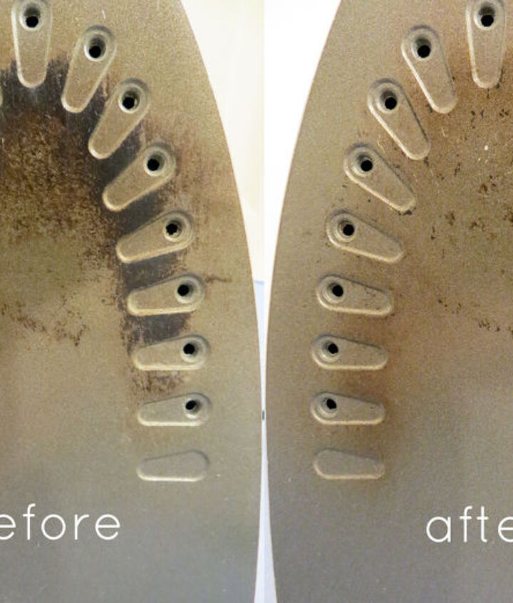 diy iron cleaner clean your burnt iron, cleaning tips