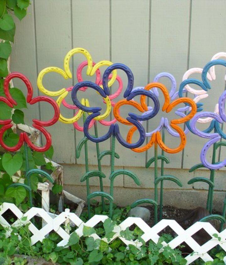horseshoe flowers, flowers, gardening