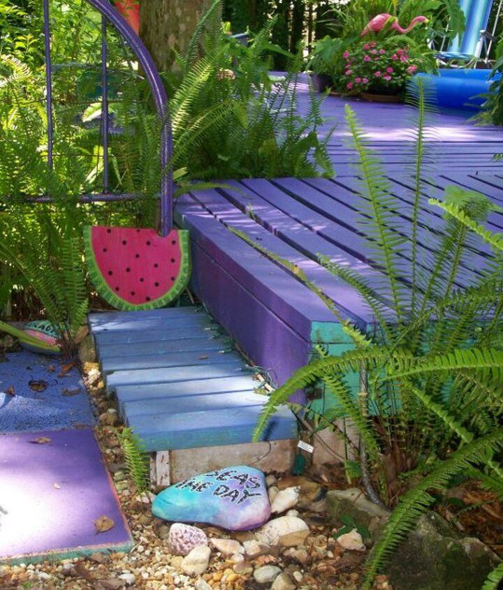 More Purple Porch