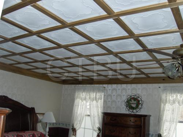 Diy Affordable Install Over Existing Popcorn Ceiling