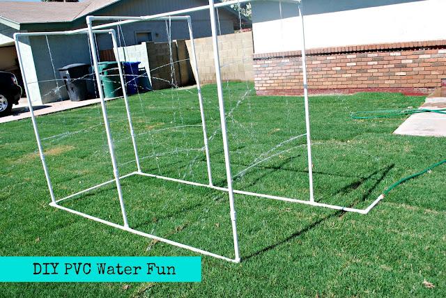 DIY PVC Water fun