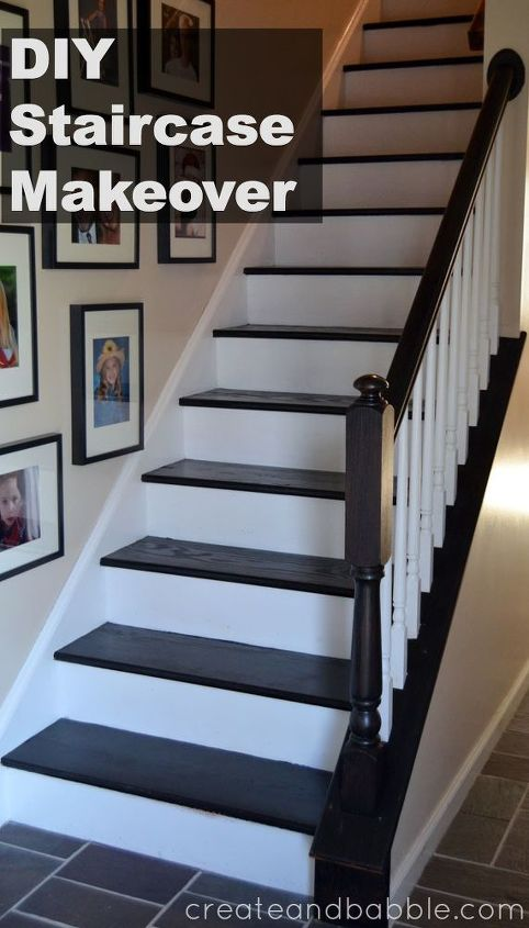 Finished staircase makeover