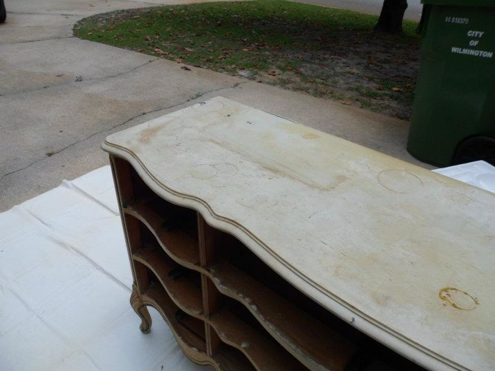 50 00 dollar dresser to bathroom vanity, painted furniture, repurposing upcycling