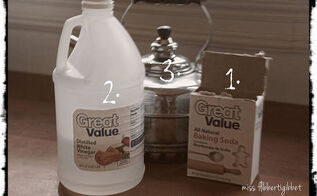 easy and natural drain cleaning, cleaning tips, Simple ingredients from the pantry