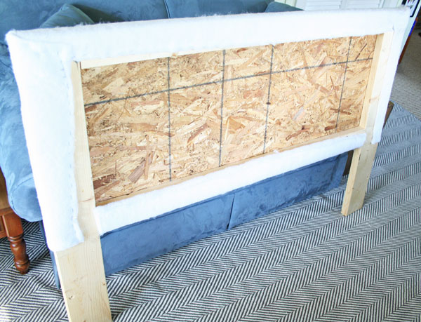 make your own upholstered headboard, bedroom ideas, home decor, painted  furniture, reupholster