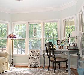 My Favorite Room The Sunroom Office, Craft Rooms, Hardwood Floors, Home  Decor,