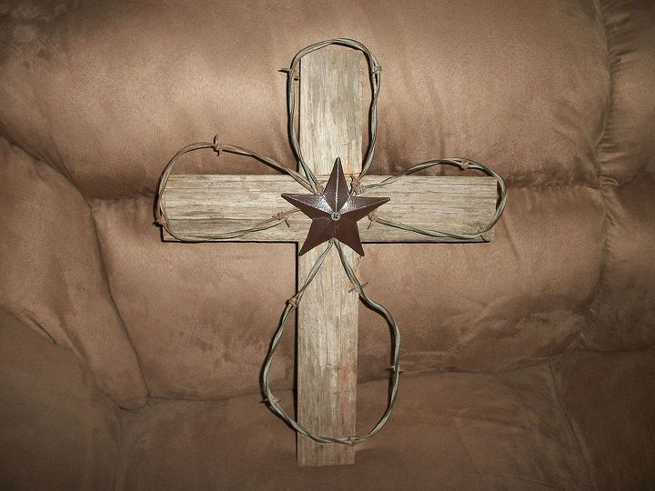 rustic wooden cross, crafts, repurposing upcycling