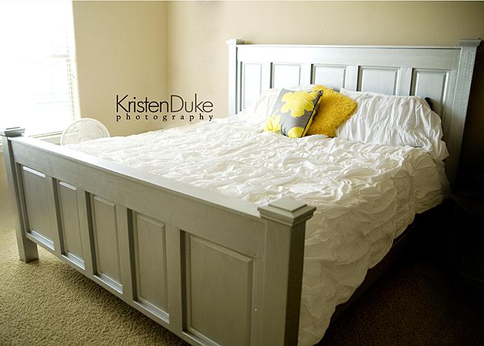 diy king bed, bedroom ideas, painted furniture, DIY King bed