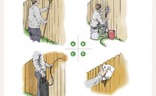 3 money saving spring fix ups, curb appeal, diy, fences, home maintenance repairs, how to, hvac, painted furniture, Copy paste to see the how to steps for staining your fence