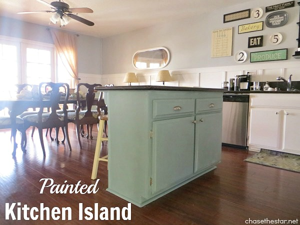 Painted Kitchen Island | Hometalk