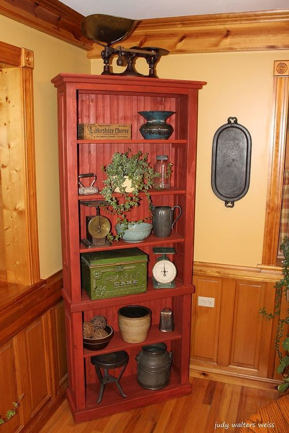 gift from the heart made by the hands, diy, painted furniture, woodworking projects, The cabinet is a versatile piece which can be used to display items or as a book case in any room
