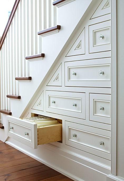 7 stunning under stairs storage ideas, home decor, shelving ideas, stairs, storage ideas, lots of shelving