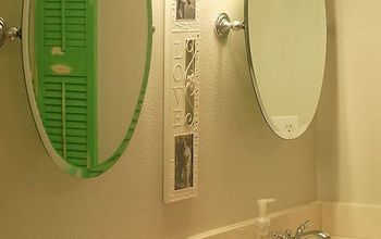 master bath reveal, bathroom ideas, home decor, I love my mirrors So glad the previous owners had a little bit of good taste at least