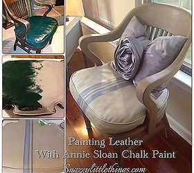 Merveilleux Diy Painting Leather Furniture, Chalk Paint, Painted Furniture, Painting  Leather Using Annie Sloan