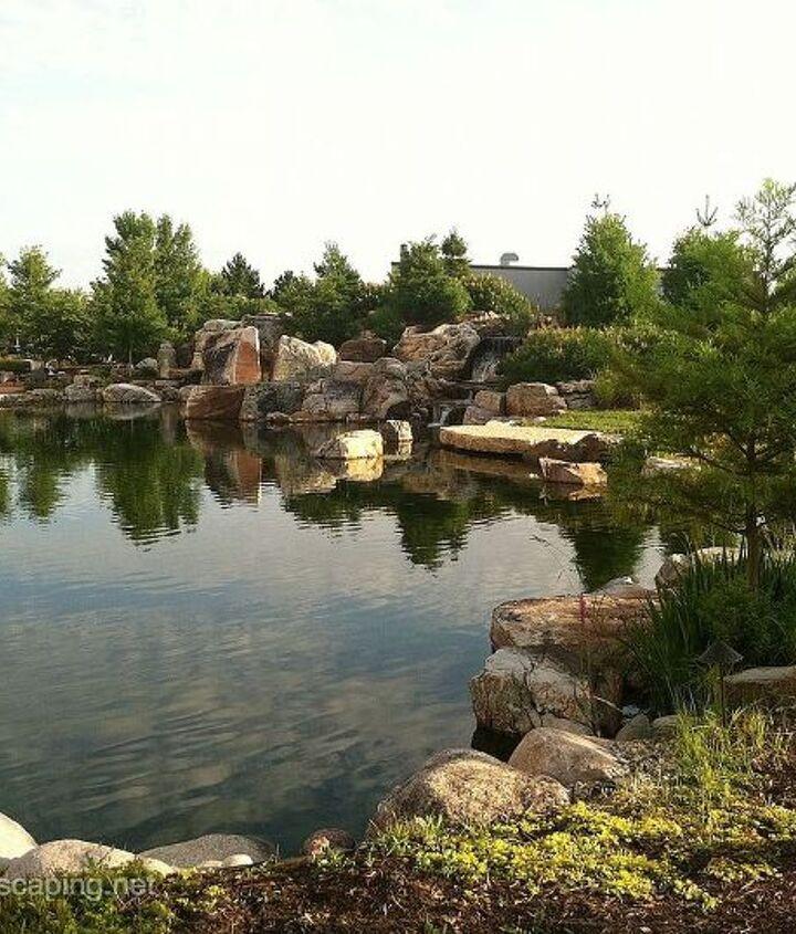 Water Garden Installation, Rochester NY
