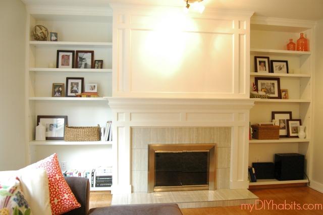 Diy Brick Fireplace Refacing Hometalk