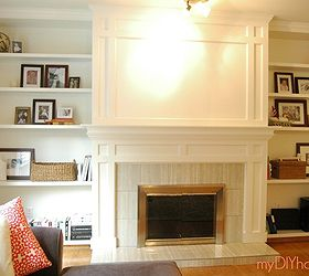 Diy Brick Fireplace Refacing, Concrete Masonry, Concrete Countertops, Diy,  Fireplaces Mantels,
