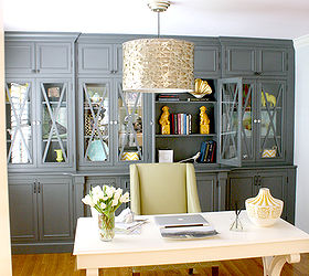 A Stylish Home Office, Craft Rooms, Home Decor, Home Office, Custom Built
