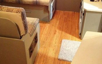 RV Remodel on a Budget - Floor Update