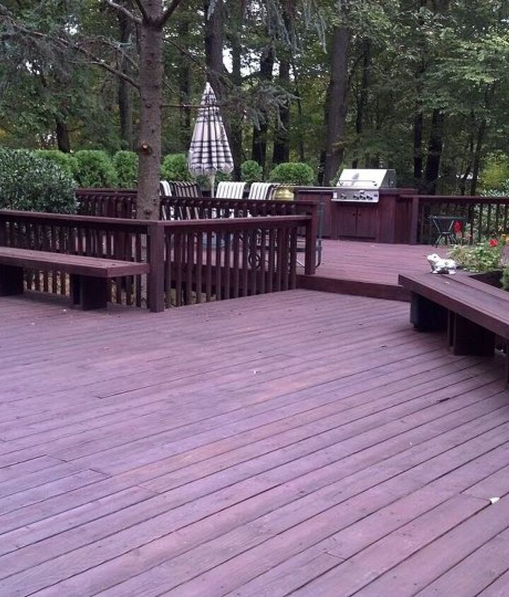 Classic Deck and Patio Company angular decking (with angular framing too!)