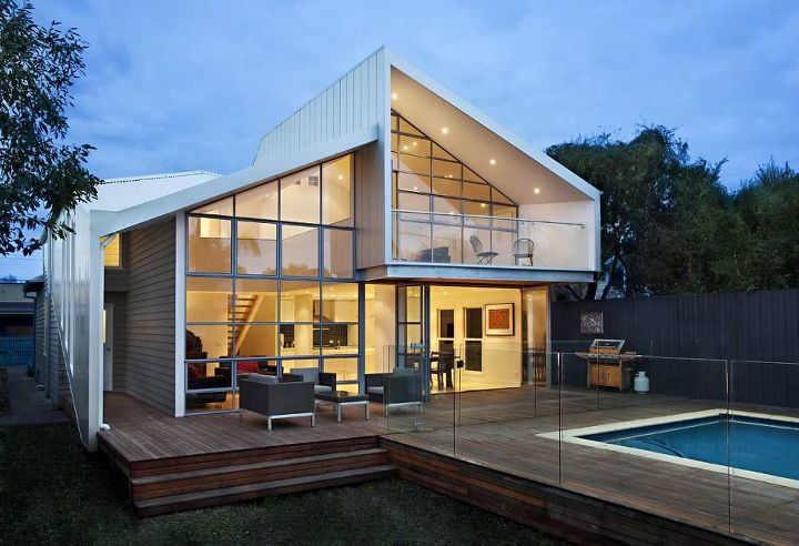 Blurred House, Melbourne, Australia