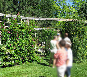 Privacy Screen Ideas And How To Make A Fence Taller, Fences, Outdoor Living,
