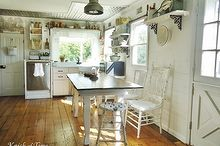 farmhouse kitchen before and after, home decor, home improvement, kitchen design, Kitchen After
