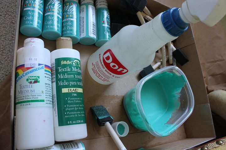 fabric paint for furniturePaint the fabric on that old chair Yes it can be done  Hometalk