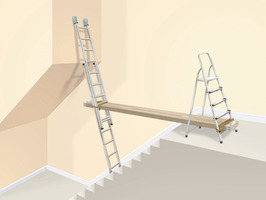 How To Paint Staircase Wall Without A Scaffold Hometalk