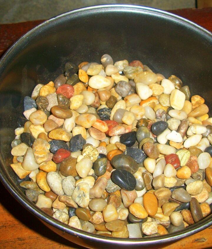 small river stones