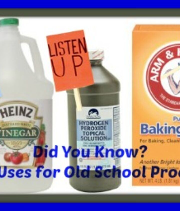 did you know new uses for old school products, cleaning tips, go green, products