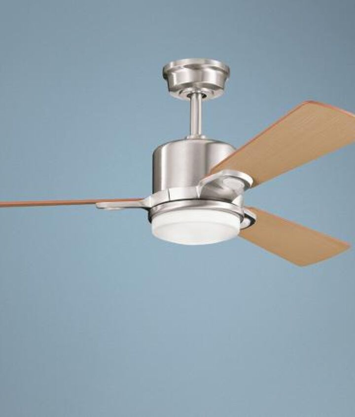 which ceiling fan would you choose for a house in key west fl, lighting