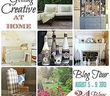 getting creative home blog tour is up and ready to tour, crafts, home decor, Creative at Home Tour