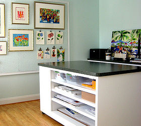 Home Office Art Studio Design, Craft Rooms, Home Decor, Home Office, Custom