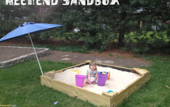 diy weekend sandbox, diy, outdoor living