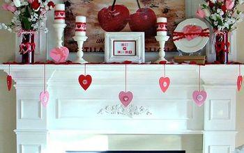 Our 2013 Valentine Mantel