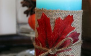 diy fall candle, crafts, seasonal holiday decor