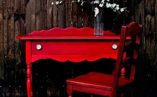 milk painted furniture, painted furniture, and the final product