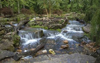 Expansive Waterfalls and Pond in Crown Point, Indiana
