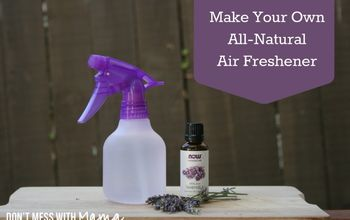 How to Make Your Own All-Natural Air Freshener