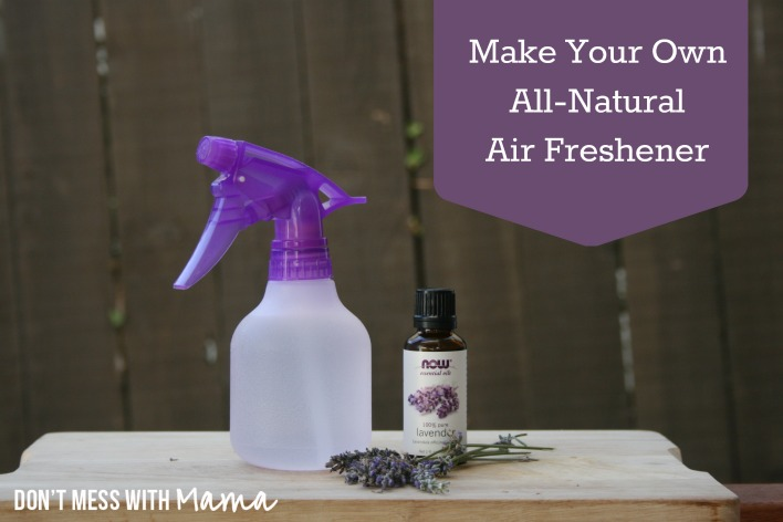 how to make your own all natural air freshener, cleaning tips