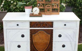 1920 s dresser rescue, chalk paint, painted furniture, rustic furniture